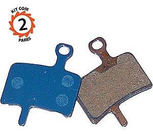 Pastilha Freio Disco Orgânica Diatech Ds-32 Kit 2 Pares
