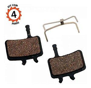 Pastilha Freio Disco Avid Bb7 Juicy Carbon Promax Kit 4 Par