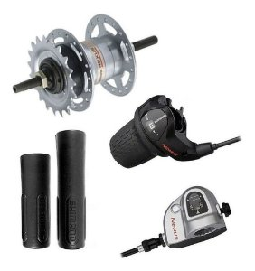 Kit Nexus Inter 3 P/ V-brake Completo 3v