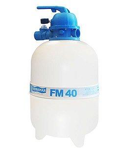 Filtro FM 40 - para piscinas até 50 mil litros