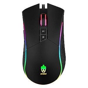 Mouse Gamer EG106/SKADI com fio EVOLUT