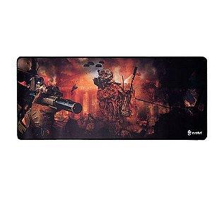 MousePad Gamer EG402RD Grande 70x30 cm laranja EVOLUT
