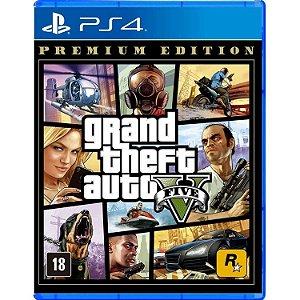 Jogo GTA V Premium Edition PS4