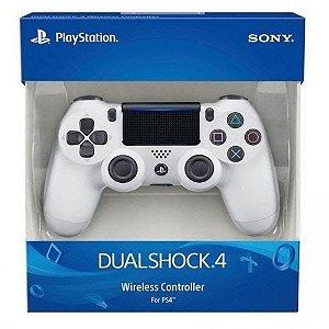 Controle Sony Dualshock 4 Branco Ps4