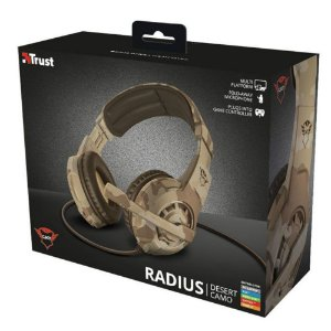 Radius Gaming Headset Desert Camo GXT 310D
