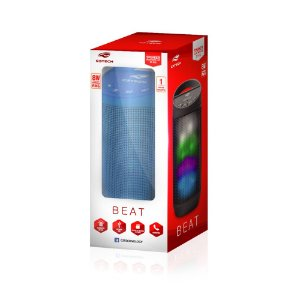 Caixa de Som Bluetooth Beat C3-Tech Azul 8W RMS SP-B50BL