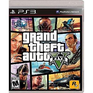 Jogo Grand Theft Auto V - PS3