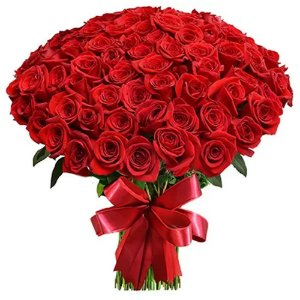 Mega Buquê de 100 Rosas Colombianas