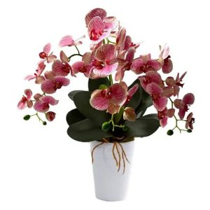 Orquídeas Artificiais De Silicone