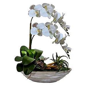 Flor Artificial De Orquídea