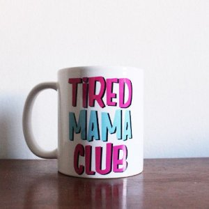 CANECA TIRED MAMA CLUB