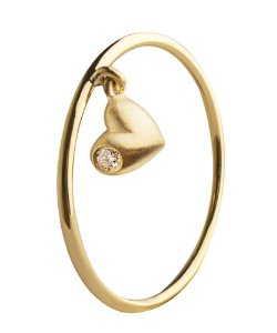 Anel Heart de Ouro com Brilhantes - 18k