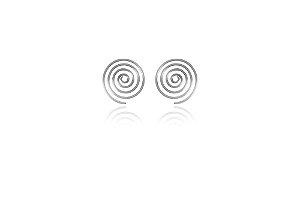 Brinco Circulos Prata 925
