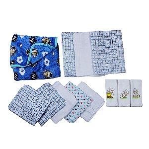 Kit  Enxoval Urso Baby  (12 peças)