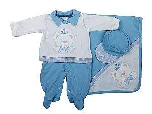 Saida Maternidade  Mundo Colorido RN  (Ursinho Azul Bebê)
