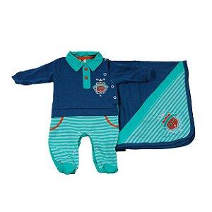 Saida Maternidade Sininho RN (Azul M C/ Verde)
