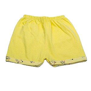 Short Liso Simples (Amarelo)