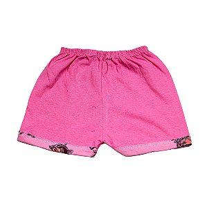 Short Liso simples (Rosa Pink Gata Marie)