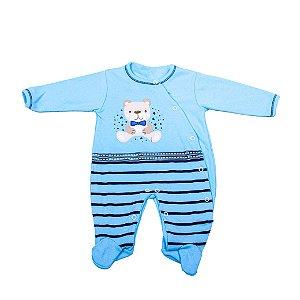 Macacão Nilly Baby (Ursinho Estrelado)