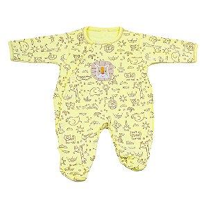 Macacão Nilly Baby (Leão Amarelo)