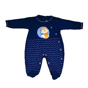 Macacão Nilly Baby (Rapoza Azul)