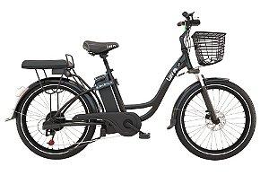 Bicicleta Elétrica Lev E-bike L+ Aro 26 - Preta
