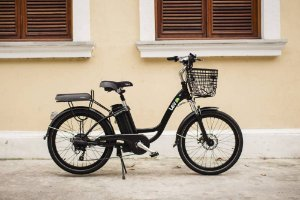 Bicicleta Elétrica Lev E-bike L Aro 24 - Preta