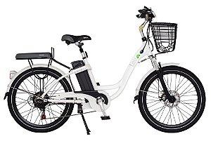 Bicicleta Elétrica Lev E-bike L Aro 24 - Branca