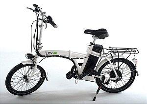Bicicleta Elétrica Lev E-bike D Aro 20 - Branca