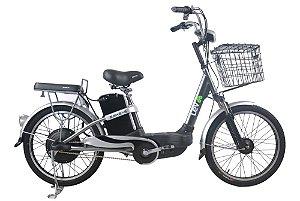 Bicicleta Elétrica Lev E-bike S Aro 22 - Cinza