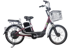 Bicicleta Elétrica Lev E-bike S Aro 22 - Bordô