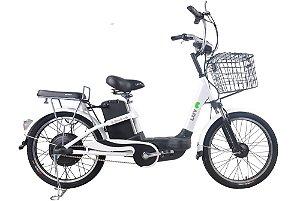 Bicicleta Elétrica Lev E-bike S Aro 22 - Branca