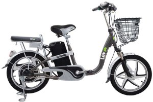 Bicicleta Elétrica Lev E-bike Aro 18 - Cinza