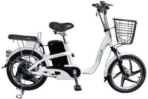 Bicicleta Elétrica Lev E-bike Aro 18 - Branca