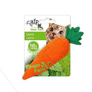 Brinquedo Afp Cenoura Catnip Canadense Para Gatos - Green Rush