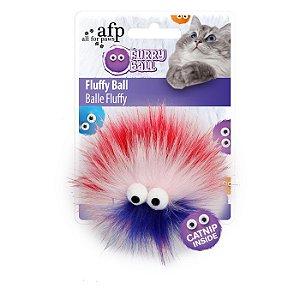 Brinquedo Afp Monstrinho Pink Para Gatos - Furry Ball