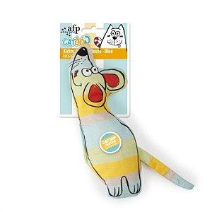 Brinquedo Pelúcia Afp Ratão Para Gatos - Catoon