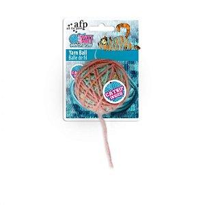 Brinquedo Afp Bolinha De Lã Para Gatos - Knotty Habit