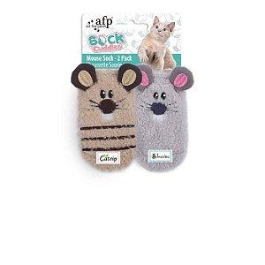 Brinquedo Afp Ratinhos Para Gatos - Sock Cuddler