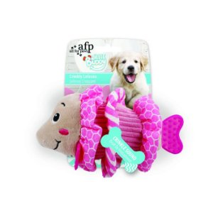 Brinquedo Pelúcia Afp Peixe Rosa Para Cachorro - Little Buddy