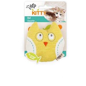 Brinquedo Afp Coruja Para Gatos - Kitty