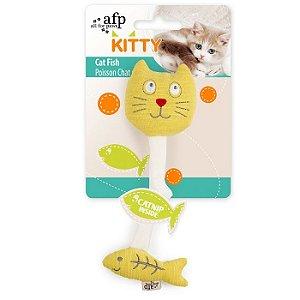 Brinquedo Afp Peixe & Gato Para Gatos - Kitty
