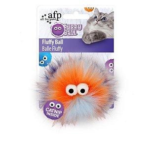 Brinquedo Afp Monstrinho Azul Para Gatos - Furry Ball