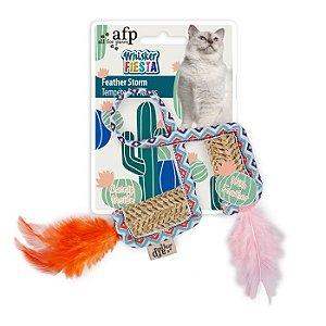 Brinquedo Afp Peninhas Para Gato -Whisker Fiesta