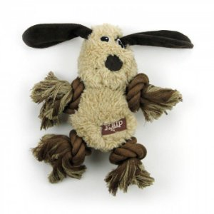 Brinquedo Pelúcia E Corda Afp Cachorro - Lam