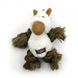 Brinquedo Pelúcia E Corda Afp Cavalinho Para Cachorro - Lam