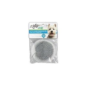 Refil Filtro Fonte Bebedouro Automático Afp Azul Bivolt Para Cão e Gato