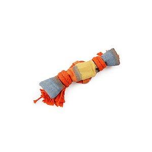 Brinquedo Lona E Corda Afp Para Cachorro - Rope Tangle