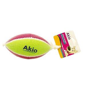 Brinquedo Bola Rugby Borracha Para Cachorro - Akio
