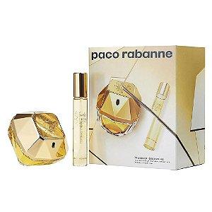 Kit Paco Rabanne Lady Million Eau de Parfum 80ml + 20ml